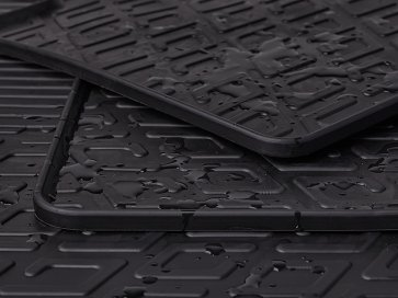 Rubber car mat A6 C5
