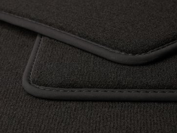 Luxe Velours car mat Mokka Type 1