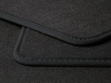Velours car mat Mokka Type 1